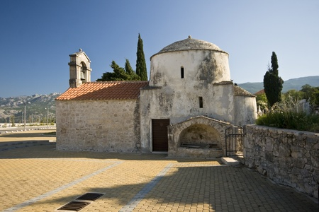 starigrad: Ancient church in Starigrad Paklenica from the 9th century