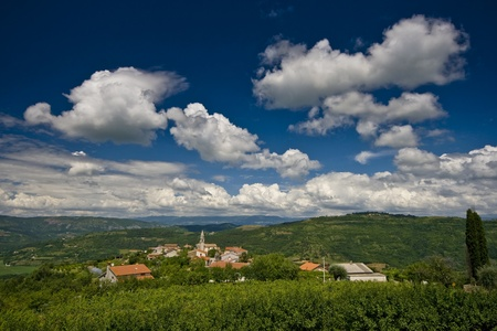 Panoramic view of the old Kaldir and the landscape  Stock Photo - 10523804