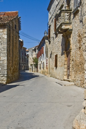 stony: Stony Galizana street Stock Photo