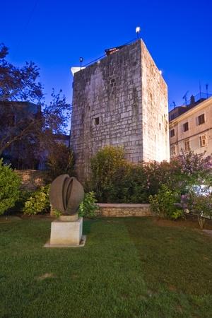 pentagonal: Medieval Pentagonal Tower in Porec