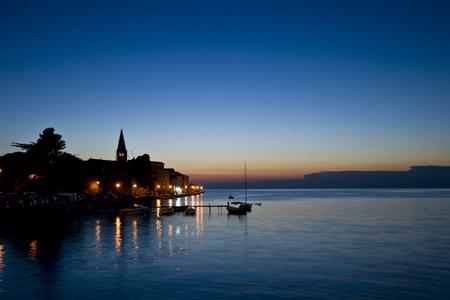 Blue Porec dusk photo