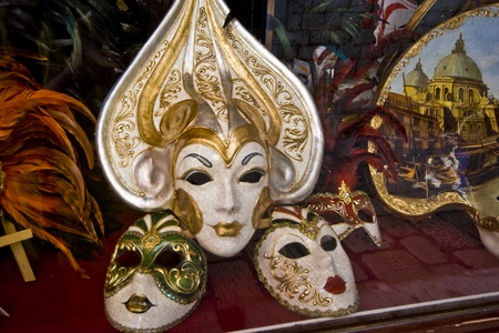 Venetian masks photo