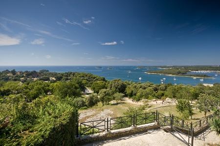 Panorama from Vrsar photo