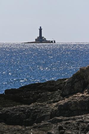 Faro di Capo Kamenjak Archivio Fotografico - 11905645