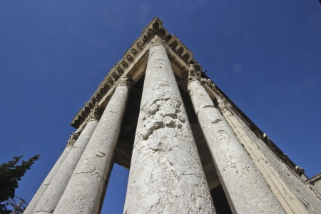 Famous Temple of Augustus in Pula Stock Photo - 17693467