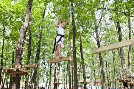 Abenteuer Klettern Hochseilpark