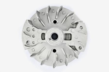 Die Komponenten des Verbrennungsmotors, Motorrad, Motorhacken, Rasenm�her, mettalicheskoe Produkt zaposnye von Moped Motor-Aggregat.
