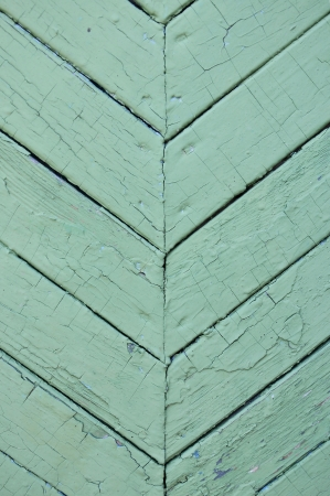 old green wooden fence background photo
