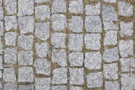 Grey Stone Block Seamless Texture. (more seamless backgrounds in my folio). photo