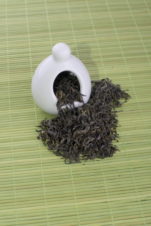 different types of tea tea, green, white, photo