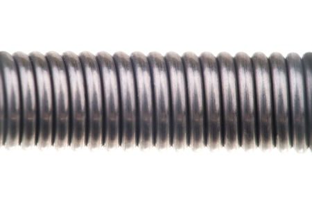 metal spring coil. coil metal spring on an isolated background photo