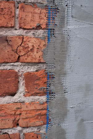 Gesso estrutural na parede