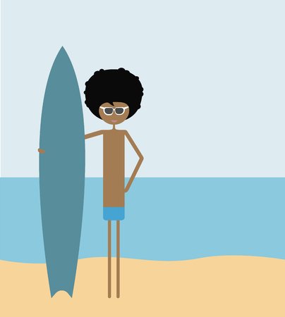 funy: Man with surf