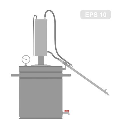 distillery: Home Alcohol machine Bathtub gin, hooch apparat