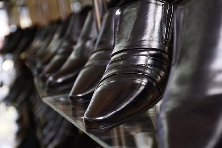 Image of men s shoe shop photo