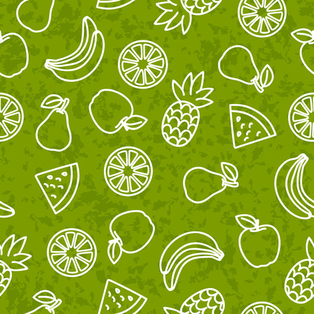 jointless: An editable seamless fruit vector background