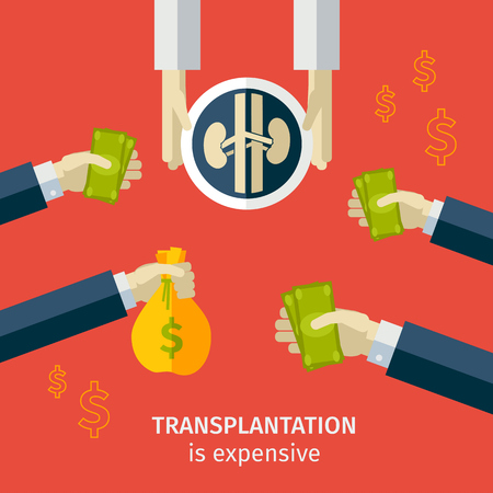 lung transplant: transplantation. buying agencies. infographic