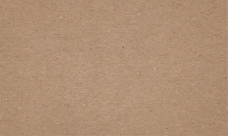 Realistic brown cardboard stained vector texture. horizontal background