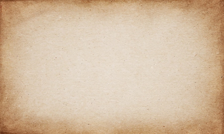 brown paper: Realistic brown cardboard stained vector texture