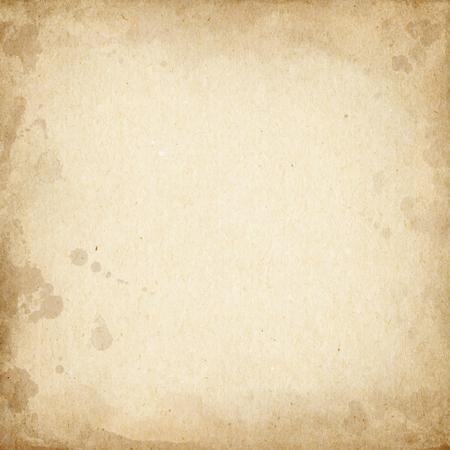 paper craft: Cartón marrón realista manchado textura.