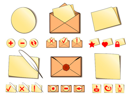 ollection: Сollection of mail Icons.