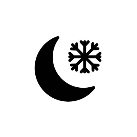 cold night icon - From forecast, Climate and Meteorology icons, widget icons