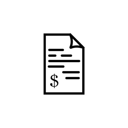 Bill, Invoice, Payment icon, Medical bill, Banking transaction receipt, Online shopping, Procurement expense, Money document file. websites and print media and interfaces.