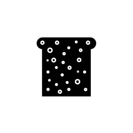 Isolated object of bread and loaf icon. Graphic of bread and bun vector icon for stock.