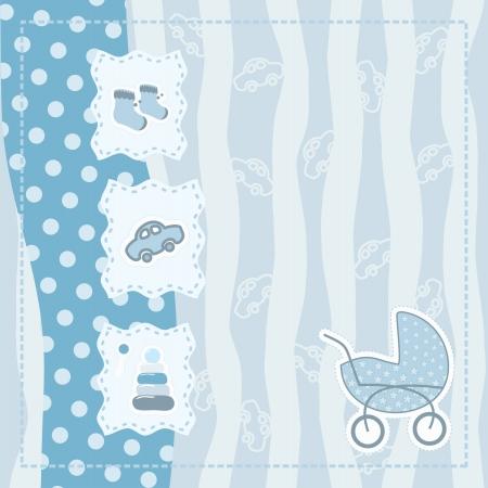 tarjeta de felicitación para bebé