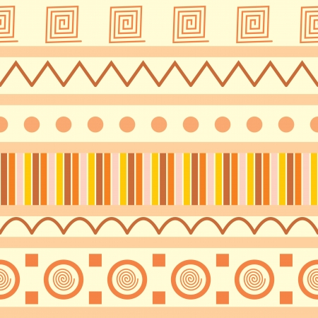 ethnic mix: seamless pattern with national ornament
