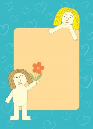 declaration of love frame