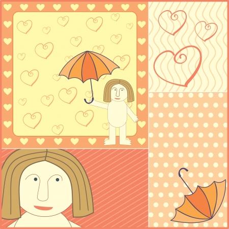 mariage: man in love illustration Illustration