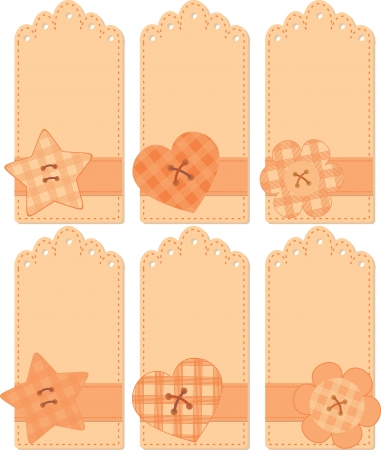 romantic tags collection Stock Vector - 14317192
