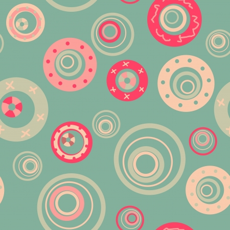 mint bubbles seamless pattern Vector