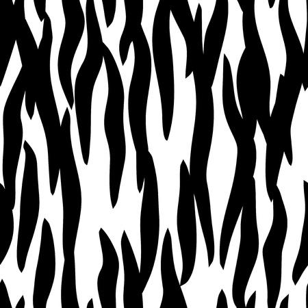 zebra skin seamless pattern Vector