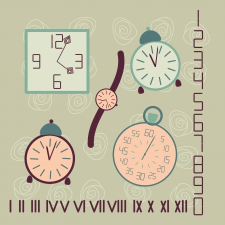 time infographics Stock Vector - 16894407