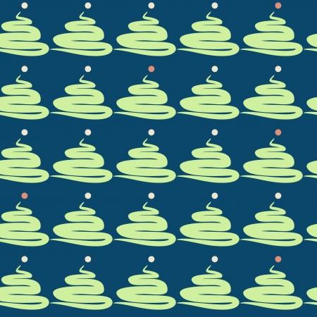 abstract fir seamless pattern Stock Vector - 16894378