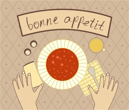 broth: bon appetit for the dinner