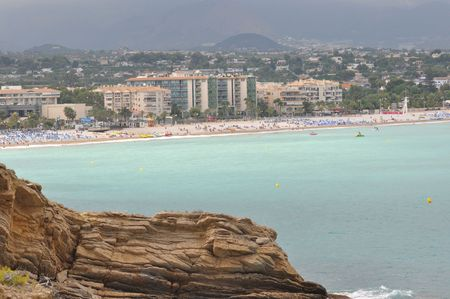 albir: Albir in Alicante beach view