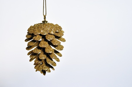 christmas decorations with white background: Christmas decorations, white background