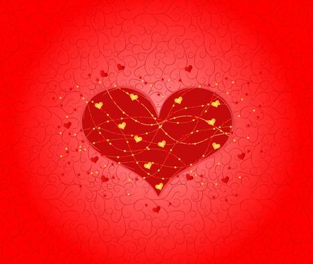 Ornate Valentine card