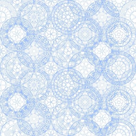 papel tapiz turquesa: Seamless encaje - Modelo del fondo adornado
