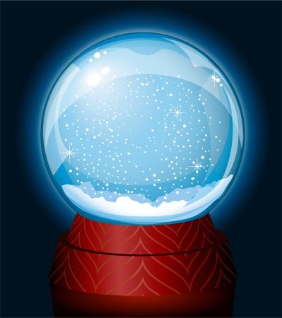Snowglobe Stock Vector - 15190542