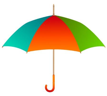 colorful umbrella Illustration