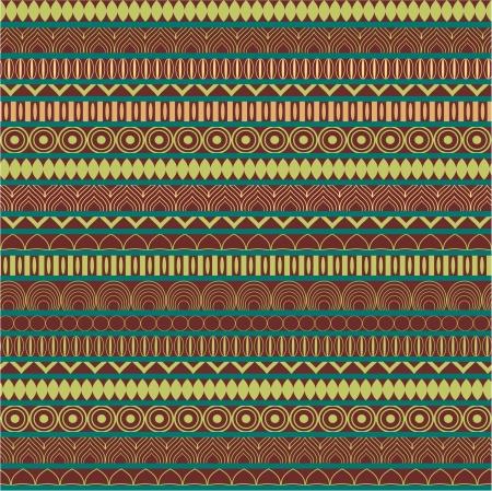 Ethnic motifs seamless pattern