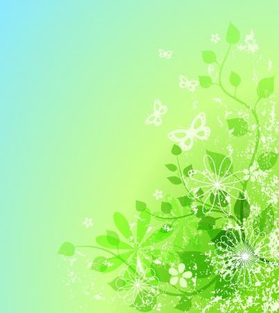 Abstract spring illustration