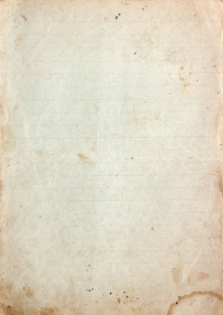 Vintage paper texture with stains