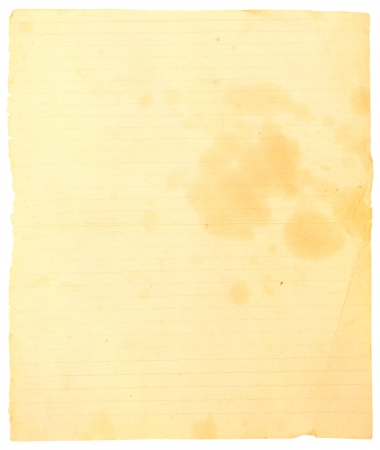 Vintage paper texture with stains photo