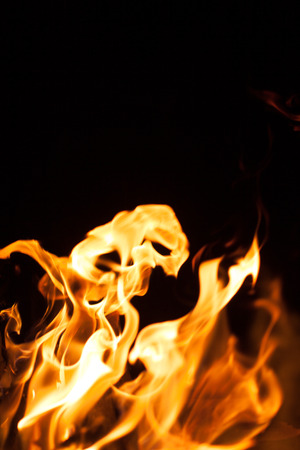 arsonist: fire flame Stock Photo