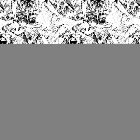 messy: Vector Grunge Seamless Textures. Black ink messy texture.